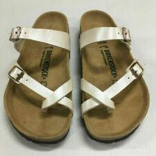 Birkenstock Mayari Graceful Pearl White Sandal EUR,39 USW,8-8.5 USM,6-6.5