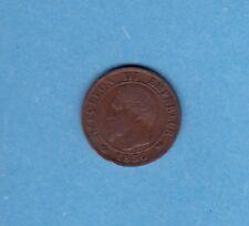 (BR.85) 1 CENTIME NAPOLÉON III TÊTE NUE 1856 B ROUEN (SUP-)