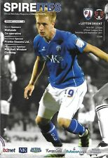 Football Programme>CHESTERFIELD v LEYTON ORIENT Sept 2011
