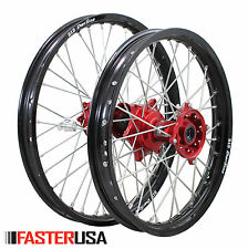 HONDA WHEELS CRF250 14-18 SET DID DIRTSTAR RIMS FASTER USA HUBS NEW MADE IN USA