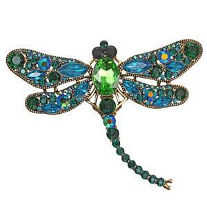 Große Libelle Brosche Anstecker Tier Brosche K38