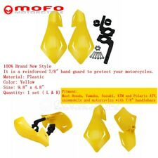 Motorcycle Plastic 7/8'' Handguards Hand Guard Fit Honda Suzuki Yamaha Polaris