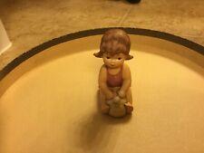 Goebel Janet Robson Figurines Beach Baby #1050308 Tmk6 Excellent Condition