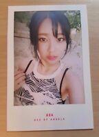 AOA Yuna Good Luck official photo card ( weekend  ver. )
