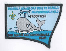 AJ2013 - AUSTRALIA SCOUT NATIONAL JAMBOREE - TROOP H22 SCOUTS BADGE
