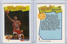 MICHAEL JORDAN 1991-92 HOOPS #317, MILESTONE POINTS MVP HOF ALWAYS FREE SHIPPING