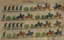 La Russia RUSSIA Uniform artiglieria cannone protetti alleanza cavalli cavalleria 1870
