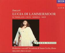 Donizetti Lucia Di Lammermoor John Pritchard Sutherland Cioni Merrill Siepi Neu