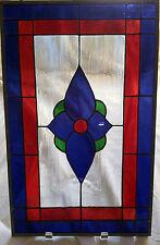 "Art Glass - Beautiful Stained Glass Piece by Artist Caryn Samuell - 16"" X 10"""