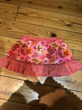 OILILY GIRLS PINK FLORAL SKIRT AGE 2 YEARS/ 24 MONTHS