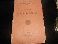 1925 BENEDETTO CROCE STORIA DEL REGNO DI NAPOLI  1°Edizione LA TERZA BARI