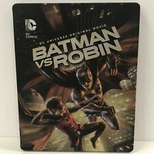 Batman vs. Robin (Target Exclusive Steelbook) VERY GOOD CONDITION!