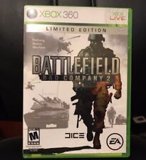 Xbox 360 Battlefield: Bad Company 2 Limited Edition Case/Manual Only No Disc