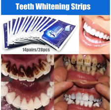 28 Pcs Useful 3D Teeth Whitening Strips Tooth Rapid Bleaching White strips White