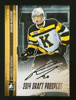 Ronald McKeown signed 2013-14 In The Game Rookie Auto Autograph card # A-RMC2