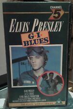 ELVIS PRESLEY,G.I.Blues,now hard to find VHS Tape (1986). from own collection