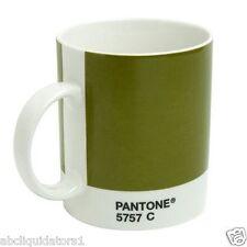 NEW! Whitbread Wilkinson Pantone Coffee Mug Olive Green 5757C