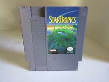 StarTropics NES Nintendo (1990) Game only