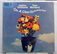 Barbra Streisand - On a Clear Day - OST 1970 vinyl LP  CBS 70075