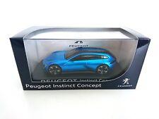 PEUGEOT INSTINC CONCEPT CAR 2017 BLEU NOREV 473982 1/43 BLAU BLUE