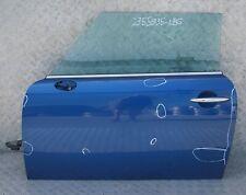 BMW MINI 8 Cooper R55 R56 R57 R58 Door front left N/S Lightning Blue Metallic