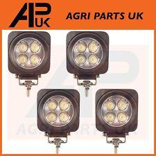 4 X 12W LED Luz de Trabajo Lámpara Luz de inundación 12-24V 4X4 SUV Jeep Tractor Excavador De Barco