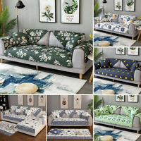 Sofa Cover Couch 100% Cotton Sectional Covers Protector Anti-Slip Slipcover Pet