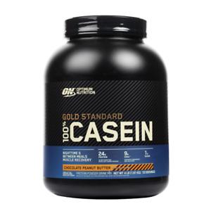 Optimum Nutrition - Gold Standard 100% Casein Protein Powder All Flavors 4 lbs