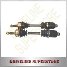 A set of CV JOINT DRIVE SHAFTS FOR DAEWOO LANOS 1.5L SOHC AUTO BOTH sides