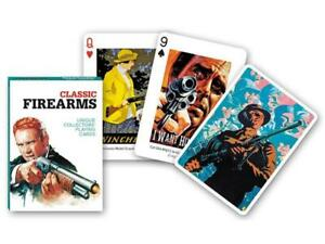 Classic Firearms set of 52 playing cards + jokers (gib)