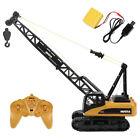 1:14 Diecast Crawler Crane Toy 15CH RC Alloy Heavy Truck Toy for Children's Day