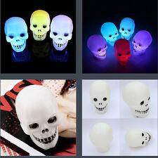 Halloween Flash Skull Grimace LED Lantern Night Light Lamp Decoration Fashion 1X