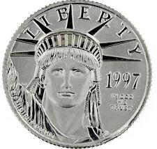 1997 1/4oz $25  BU Platinum Eagle Lady Liberty ** .9995 Pure ** UNCIRCULATED