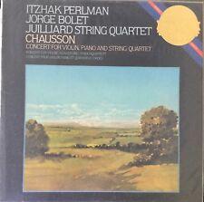CHAUSSON-CONCERT FOR VIOLIN, PIANO & STRINGS-ORIGINAL 1983 CBS VINYL LP-SEALED