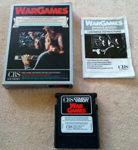 Wargames CBS COLECOVISION
