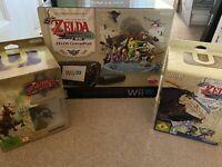 MUST SEE Nintendo Wii U Zelda Edition Plus Windwaker HD Limited And Twilight Ltd