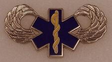 """ARMY AIR MEDIC WINGS Pin 1.25"""" Small STAR OF LIFE medical"""