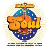 AMERICAN LEGENDS SOUL 40 Classic Hits -Various Artists NEW & SEALED 2X CD > R&B