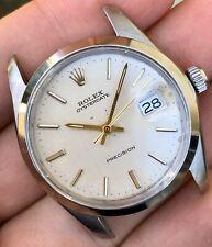 1973 Rolex Oysterdate 6694 Linen Dial ORIGINAL