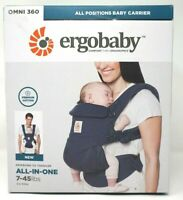 Ergobaby Midnight Blue Omni 360 All Positions Baby Carrier 7-45lbs BCS360BLU