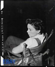 Judy Garland candid on set 1949 PHOTO From Original Negative doubleweight paper