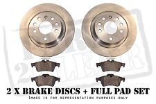 Chevrolet Spark 1.0 1.2 Front Brake Pads And Discs 235mm Vented 03.2010 - On