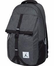 AIR JORDAN TAKEOFF Backpack / Travel Bag Reflective Black Grey Heather Raw Denim