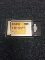 BELKIN 802.11B PCMCIA WIRELESS NOTEBOOK NETWORK CARD F5D6020 ver. 2