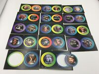 Star Trek TNG The Next Generation Pogs lot 27 Paramount Pictures 1994 Star Disc