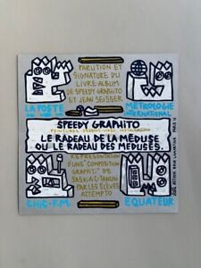 Speedy Graphito / Invitation vernissage (1987) / Le Radeau de la Méduse / Paris