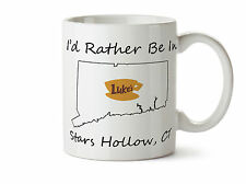 I'd Rather Be In Stars Hollow CT Gilmore Girls New Coffee Tea Mug 11 oz Lukes