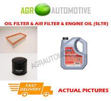 DIESEL OIL AIR FILTER KIT + FS 5W40 OIL FOR RENAULT MEGANE 1.9 131 BHP 2005-09