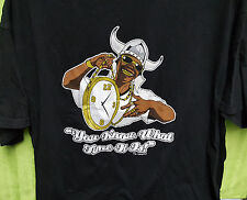 You Know What Time It Is - Public Enemy - Flavor Flav - Clock - T Shirt M