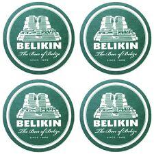 Lot 4 NEW Belize Belikin Beer Coasters Mats Mayan Ruin Temple Altun Ha Current